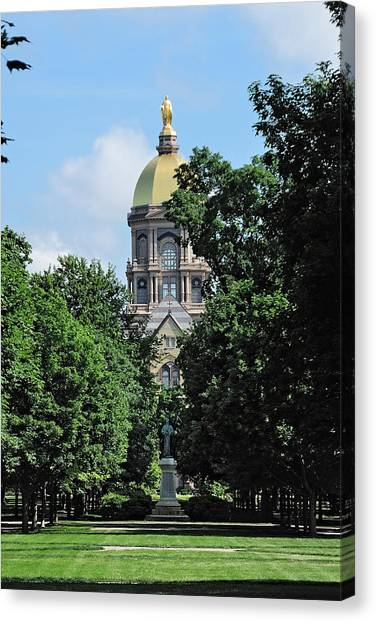 The Golden Dome Canvas Print