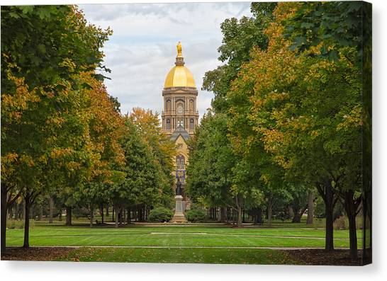 The Golden Dome Of Notre Dame Canvas Print