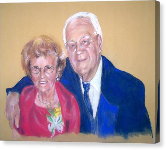 The Golden Years Canvas Print