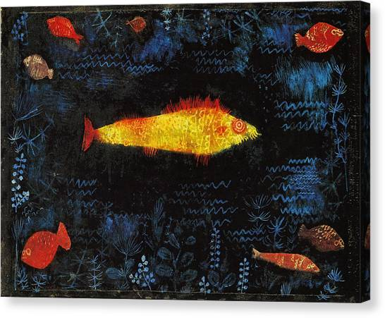 The Goldfish Canvas Print