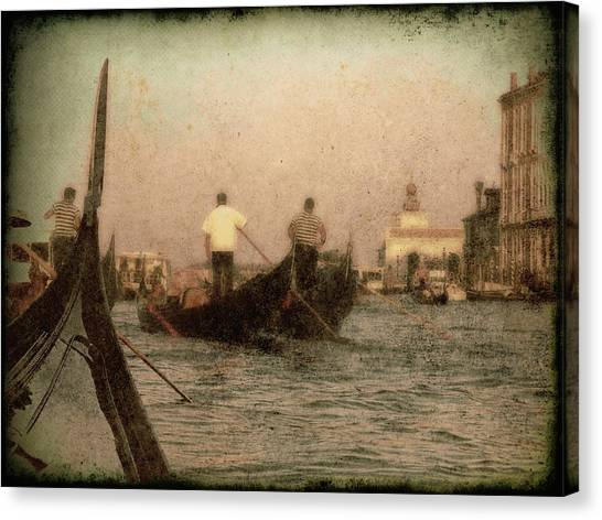 The Gondoliers Canvas Print