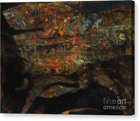 Buried Canvas Print - The Good Earth  by Nancy Kane Chapman
