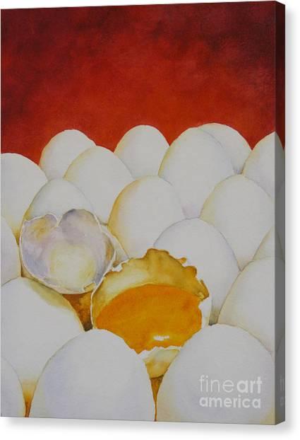 The Good Egg Canvas Print