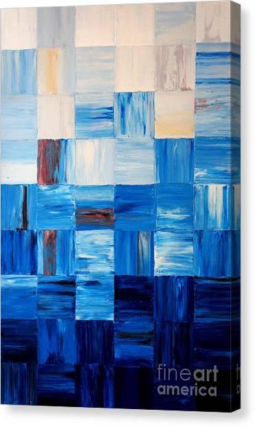 The Goss - Blue Canvas Print