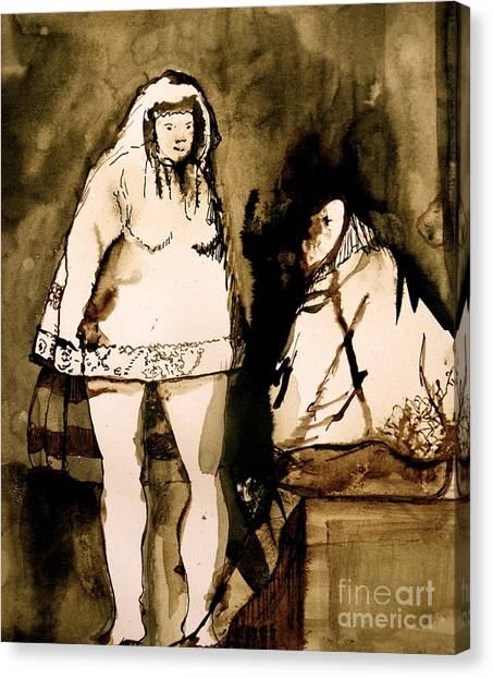 The Goya Sisters Canvas Print by Jain McKay