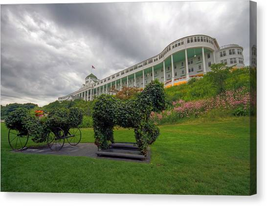 The Grand Hotel Mackinac Island Canvas Print