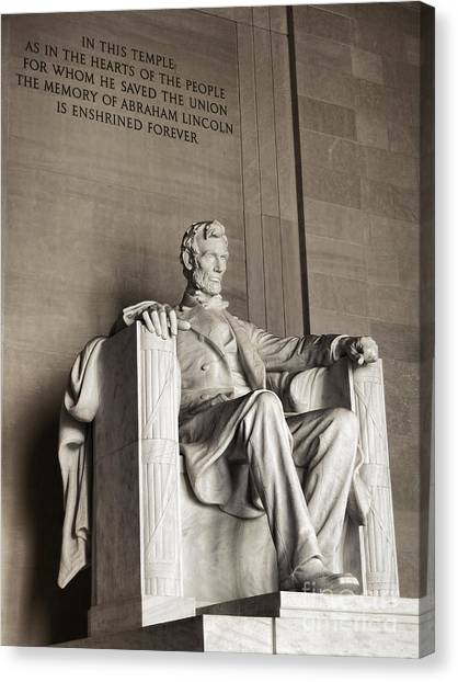 D.c. United Canvas Print - The Great Emancipator by Olivier Le Queinec