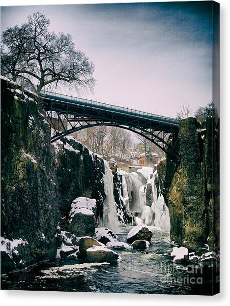 The Great Falls Of Paterson Canvas Print
