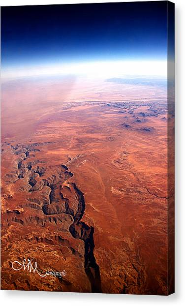 Grand Canyon Canvas Print - The Great Fault by Matt Mayer