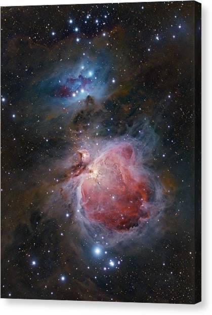 The Great Orion Nebula Canvas Print