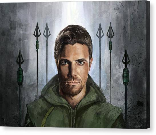 The Green Vigilante  Canvas Print