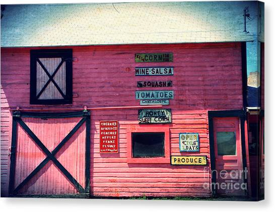 Grocery Store Canvas Print - The Grocery Store by Sophie Vigneault
