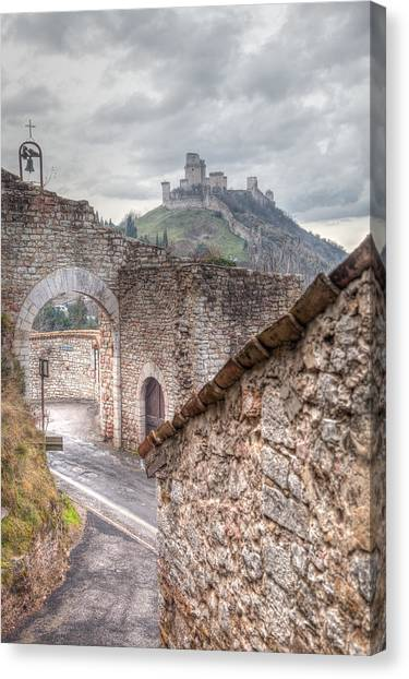 Fortification Canvas Print - The Guardian  by W Chris Fooshee