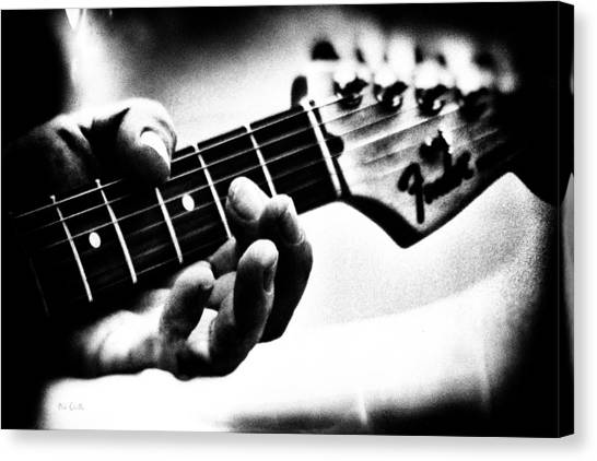 Guitars Canvas Print - The Guitar by Bob Orsillo