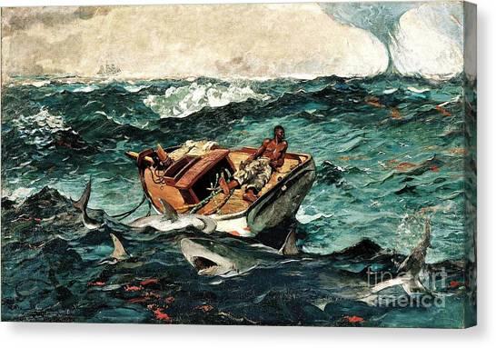 The Gulf Stream Canvas Print