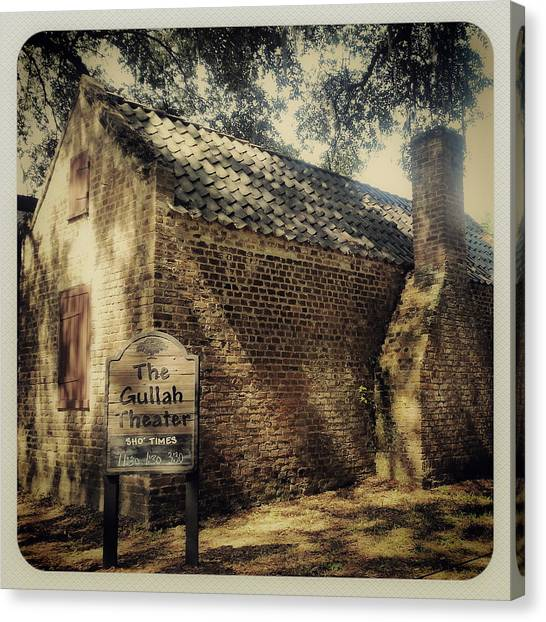 The Gullah Theater At Boone Hall Canvas Print