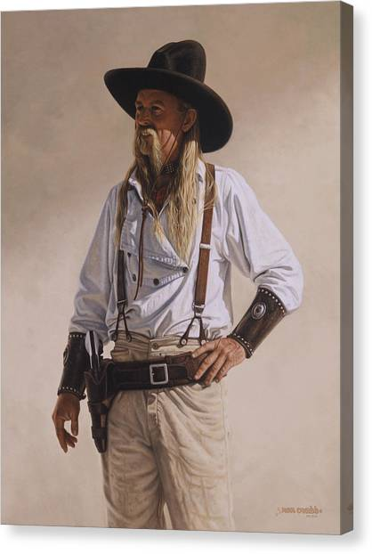 The Gunslinger Canvas Print
