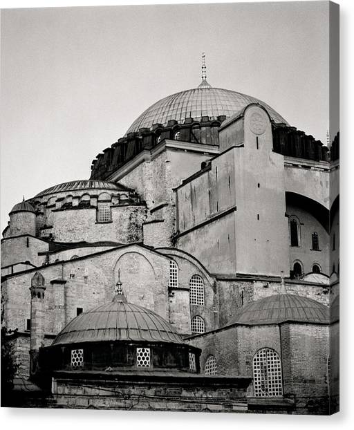 The Hagia Sophia Canvas Print