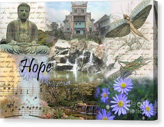 The Happy Buddah Canvas Print