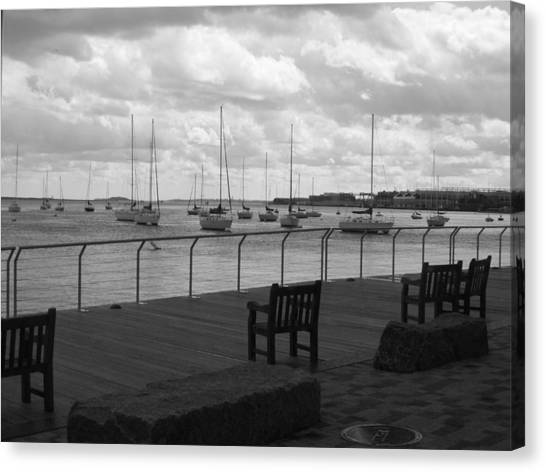 The Harbor Canvas Print