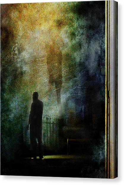 The Haunting Chill Canvas Print