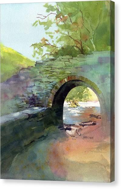 Shenandoah Canvas Print - The Headgate by Kris Parins