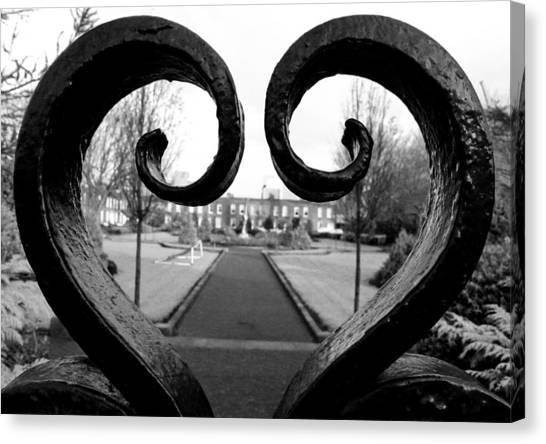 The Heart Of Dublin Canvas Print