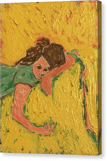 The Heartache Canvas Print