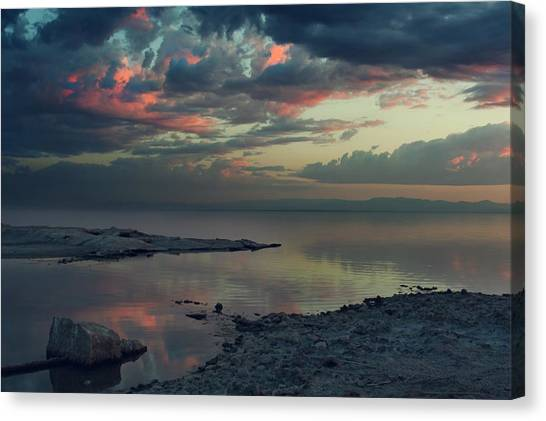 Ca Canvas Print - The Heat Of The Night by Laurie Search