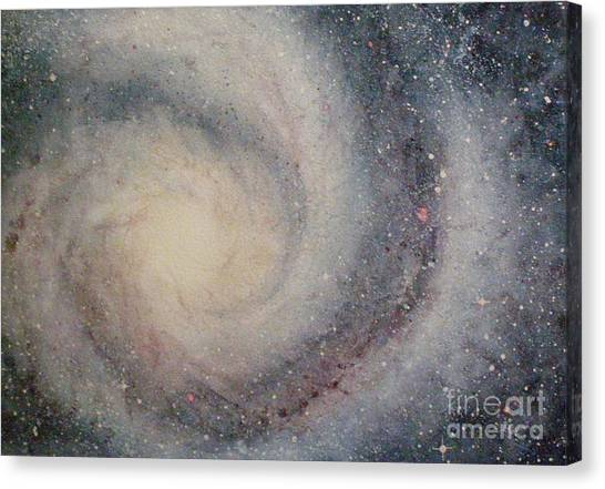 The Heavens Declare Your Glory Canvas Print
