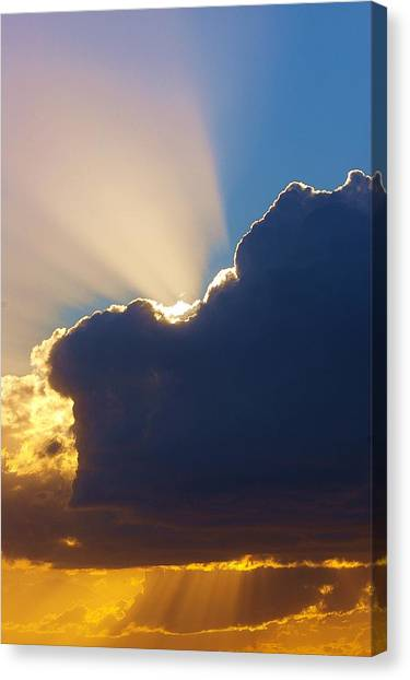 The Heavens Canvas Print