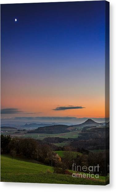 The Hegauview Canvas Print