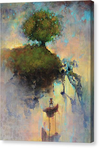 Sky Canvas Print - The Hiding Place by Joshua Smith