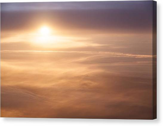 High Altitude Sunset  Canvas Print