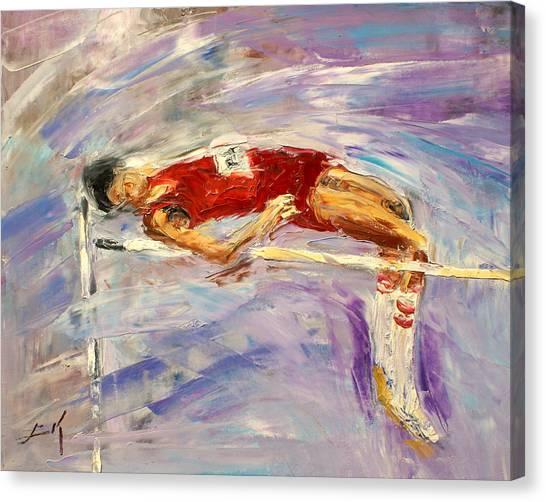 The High Jump Canvas Print