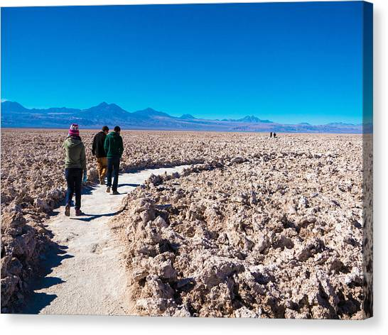 Atacama Desert Canvas Print - The Highest Driest Desert by Shohei Takada