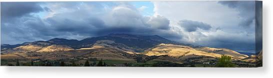 The Hills Of Ashland Canvas Print