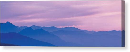Cloud Forests Canvas Print - The Hodakas Nagano Japan by Panoramic Images