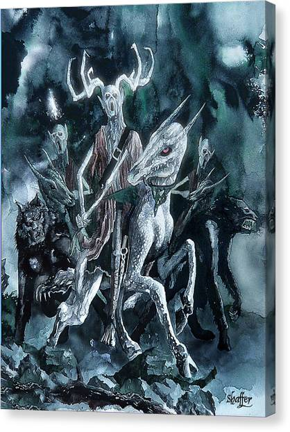 The Horned King Canvas Print