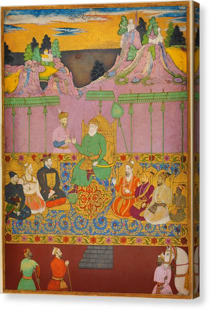 Jihad Canvas Print - The House Of Bijapur by Celestial Images