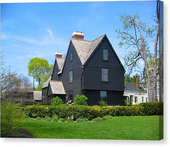 The House Of The Seven Gables Canvas Print