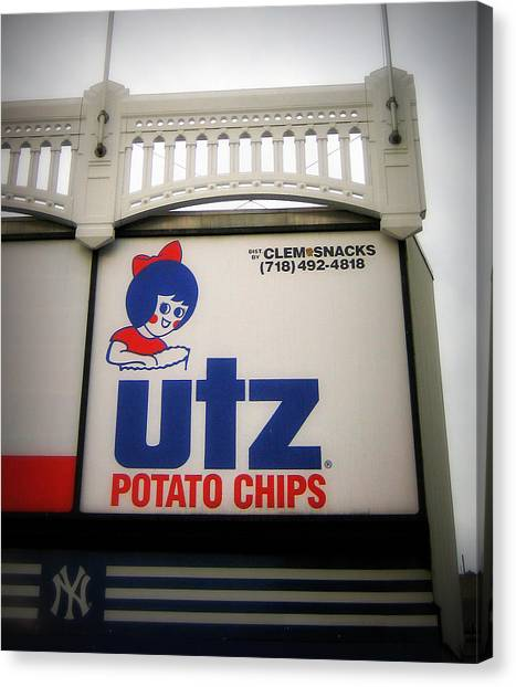 The Iconic Utz Sign Canvas Print