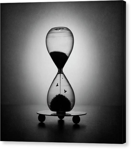 The Inexorable Passage Of Time Canvas Print by Victoria Ivanova