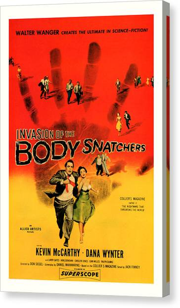 The Invasion Of The Body Snatchers 1956 Canvas Print
