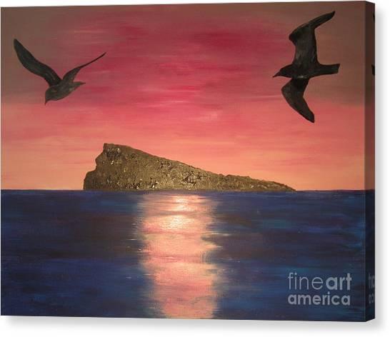 The Island Canvas Print