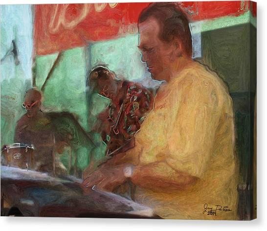 The Jazz Trio Canvas Print