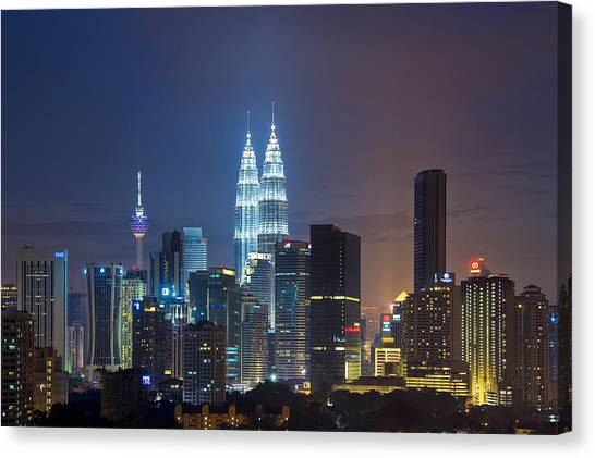The Jewel In The City Canvas Print