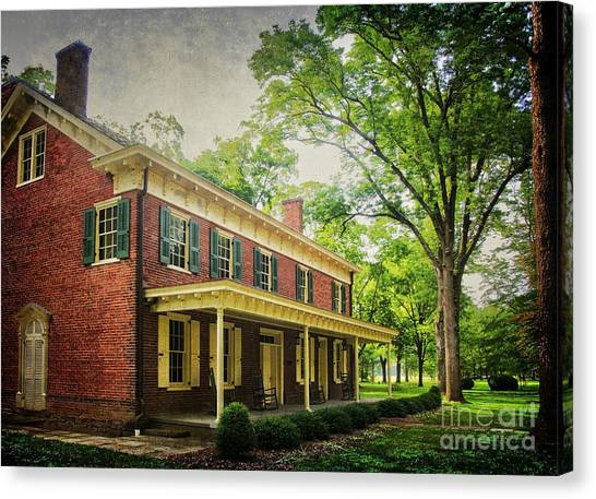 The John Stover House Canvas Print