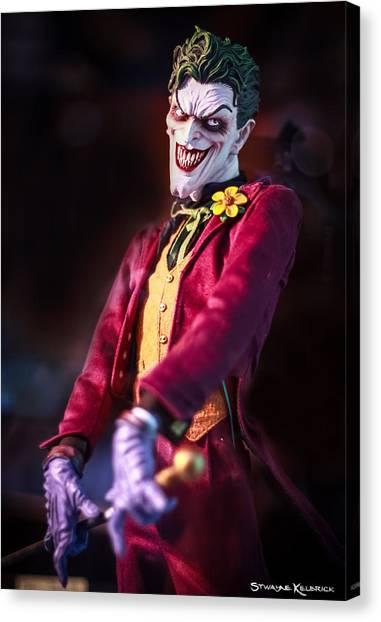 Canvas Print featuring the photograph The Joker Dummy by Stwayne Keubrick