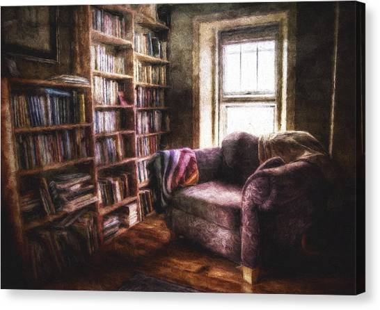 Libraries Canvas Print - The Joshua Wild Room by Scott Norris
